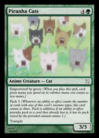 4chan cards, part 3 - Cats, Empowerment and Pack