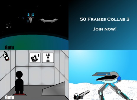 Join the 50 frame collab now! This is your last chance for free fame! Repeat that to me, soldier!