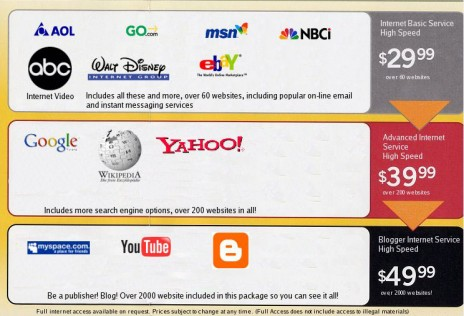 Internet is being Remodelled & Destroyed in 2012