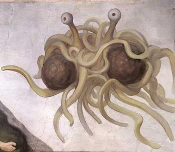 Chruch Of flying Spaghetti Monster
