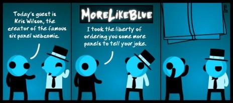 MoreLikeBlue: Crossover
