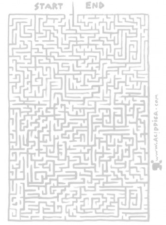You have probably never seen a better maze.