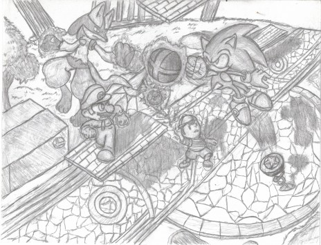 Smash Bros. Art