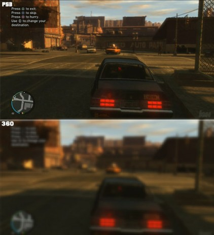 It's Official.  PS3 version of GTAIV rapes 360 version