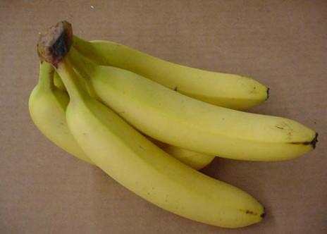 Bananas are good...