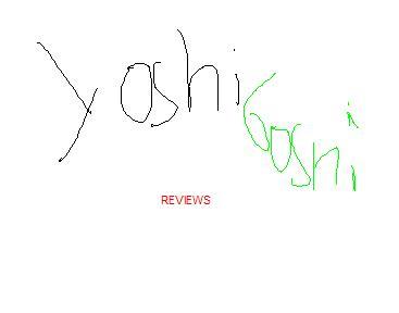 NEW: YOSHIBOSHI REVIEWS!