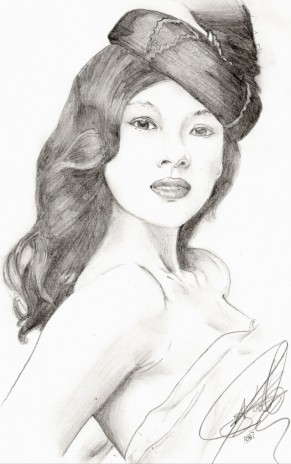 Some art. Zhang ziyi
