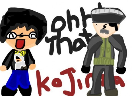Ohh that Kojima promo image