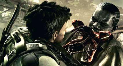 Resident Evil 5 Explosion