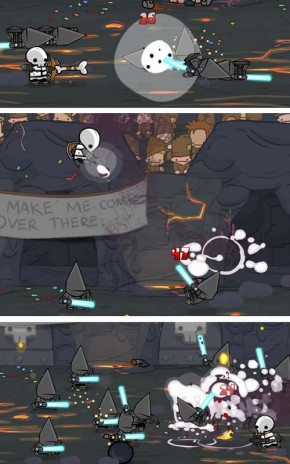 castle crasher character revealed, fan art section added