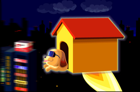 flying dog house