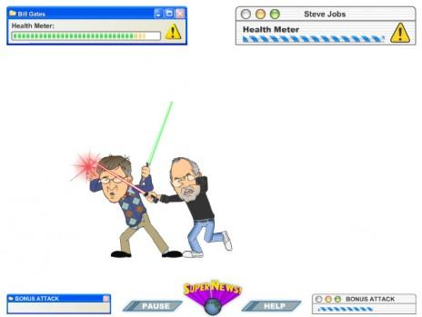 Gates vs. Jobs the Game!