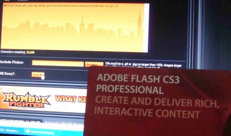 I got Adobe Flash CS3 Yesterday