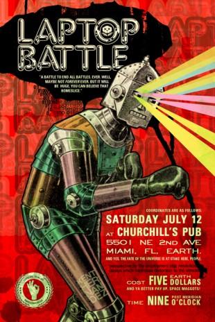 Chromatron...Miami's Laptop Battle Champion!!!