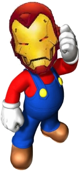 introducing, iron mario!