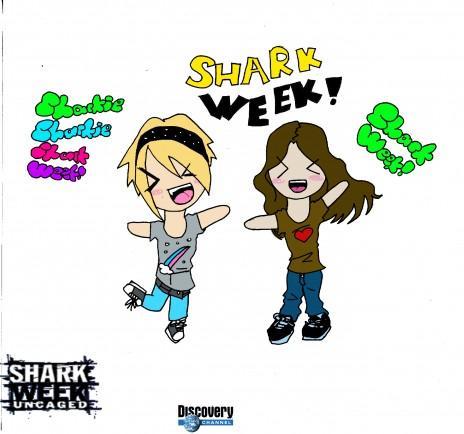 Shark Week! Shark Week! Shark Week!