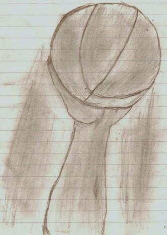 Bball jump drawing