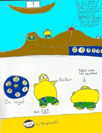 """Roller"" Sketches!!"