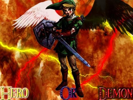 Link Hero Or Demon