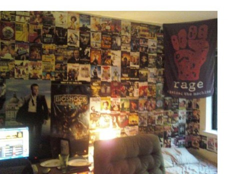My wall is awesome