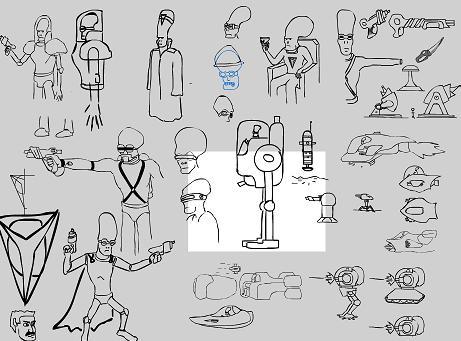 Concept Art: Spaceman