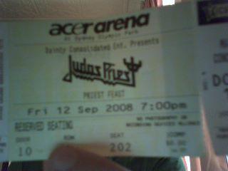 So I saw Judas Priest..