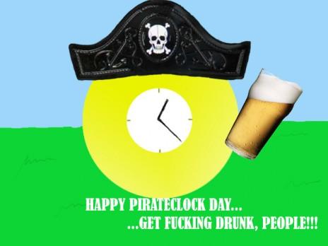 Anti CC & PirateClock day