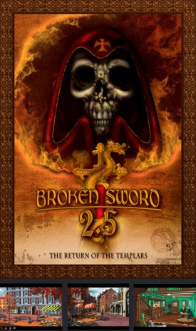 BROKEN SWORD 2.5 released