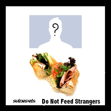 Do Not Feed Strangers Available