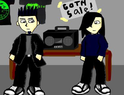 Goth Lyfe Theme Song on the Audio Portal