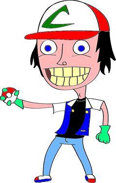 Its Ash! Lol