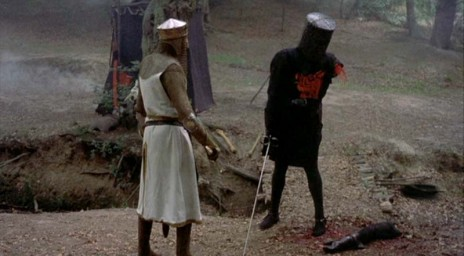 It's only a flesh wound!