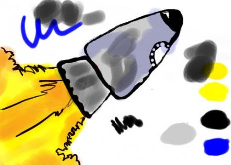 1st Doodle on Tablet