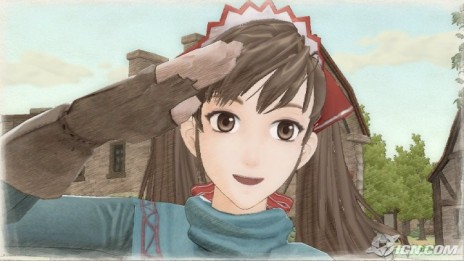 Just got Valkyria Chronicles.