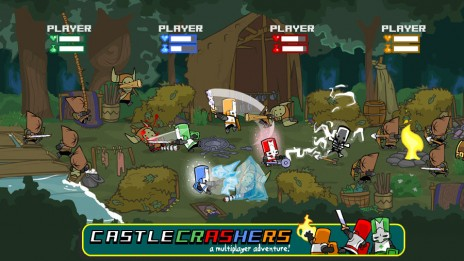 Just bought CC [Castle Crashers]