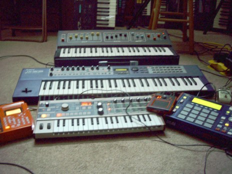 A few pieces of equipment