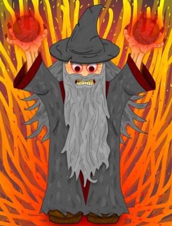 My Wizard Drawing