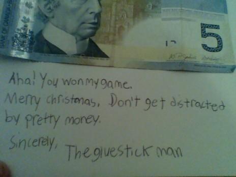 Card from Thegluestickman