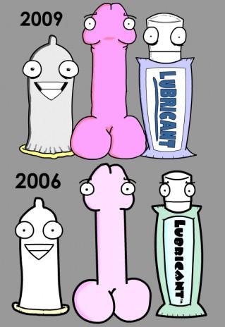 New T.V. Sex Pals Designs