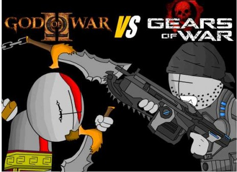 God of war vs Gears of war  GOW VS GOW