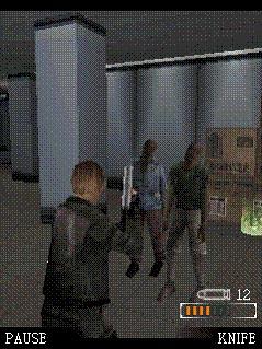 Resident Evil Degneration Mobile Phone Game