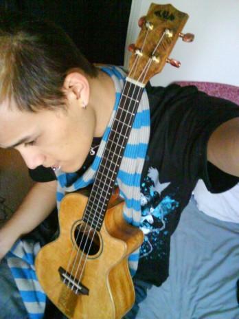 Kawika the Ukulele Musician