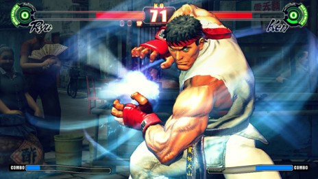 OMG I love Street Fighter 4!