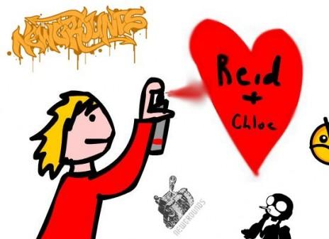 LOL Reid likes Chloe!