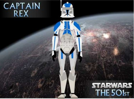 Captain Rex Phase I Armor