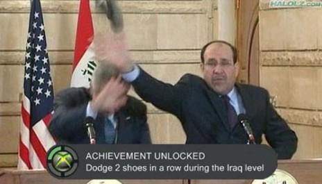 George Bush is an Achievement whore
