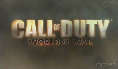 this aint COD 4 this is world of war