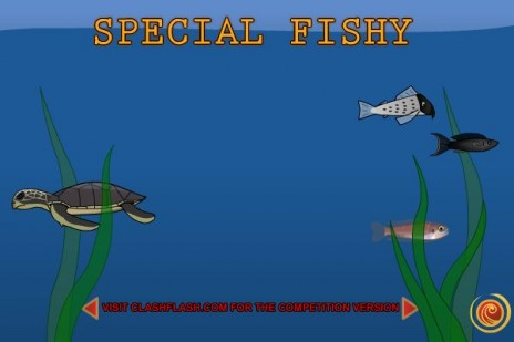 Special Fishy has been released at the competition and soon at newgrounds!