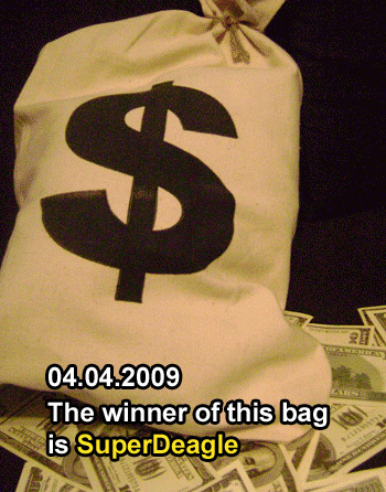 Win a bag of money!