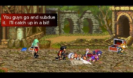Dialog Scene Screen Shot #5